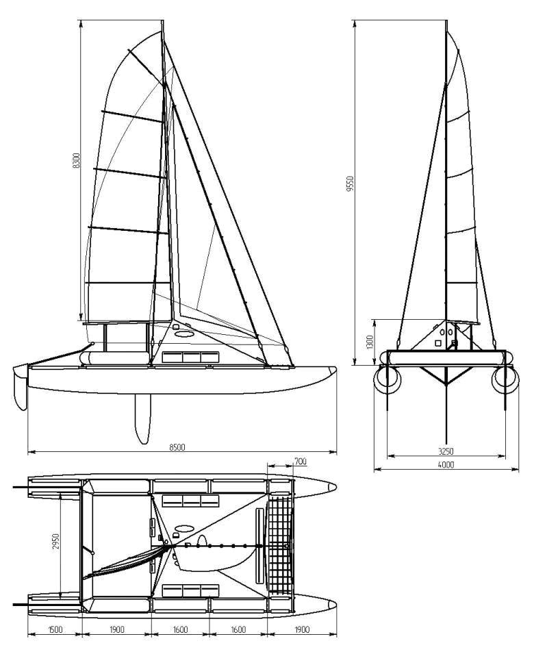 Как построить тримаран своими руками 52