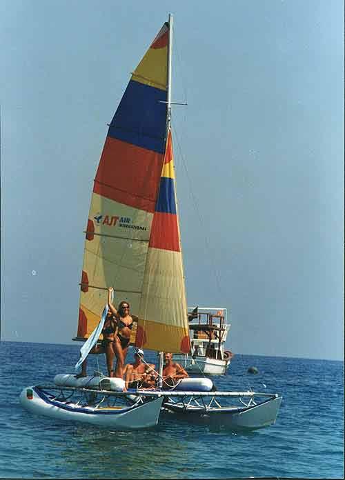 парусные байдарки катамараны тримараны и надувные лодки